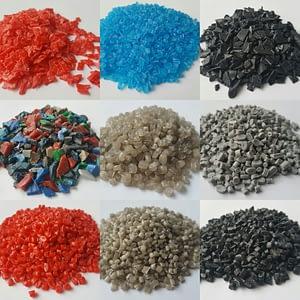 Переработка ПНД отходов в гранулу